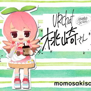 オリジナル3Dモデル「桃崎さん」momosakisan