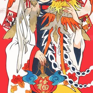 ポストカード-朱雀-
