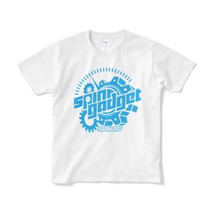 スピンギア スピンガジェットロゴTシャツ ホワイト