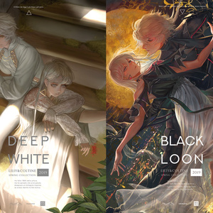 【新刊】BLACK LOON/DEEP WHITE【予約開始】