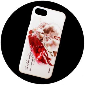 【iPhoneハードケース】風と赤