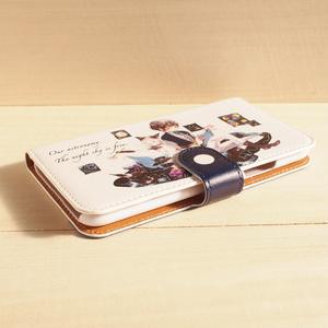 【iPhone・手帳型ケース】夕月