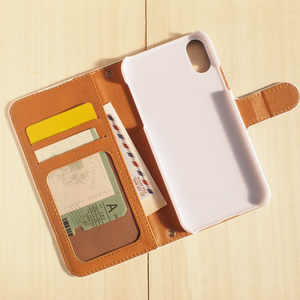 【iPhone7/8】手帳型ケース・夕月
