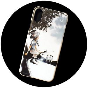 【iPhoneハードケース】夕月