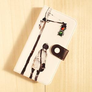 【iPhone手帳型ケース】道しるべ