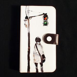 【iPhone/手帳型ケース】道しるべ