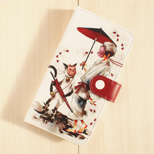 【iPhone・手帳型ケース】はなびら