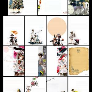 【便せんセット④】15種各2枚入り