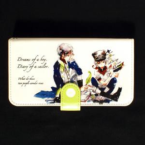 【iPhone手帳型ケース】航海士の日記