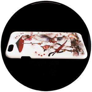【iPhoneハードケース】/白猫