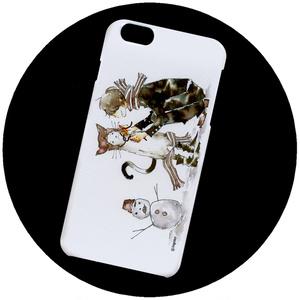 【iPhoneハードケース】雪の朝