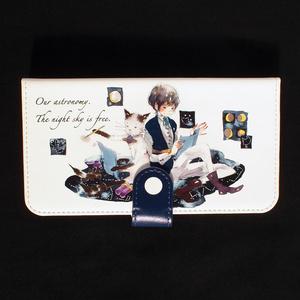 【iPhone10/10s/手帳型ケース】天文学