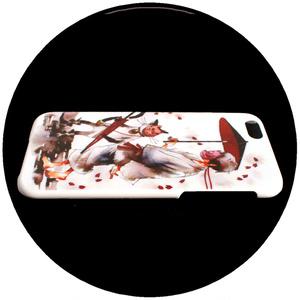 【iPhoneX】ハードケース/夕月