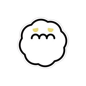 エンエンラちゃんステッカー( ホワイト) - S