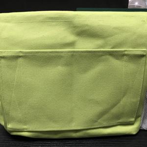 コミケ用バッグ 黄緑