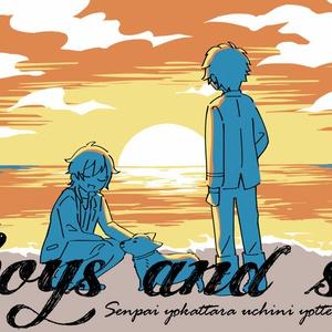 Boys and seaサコッシュ