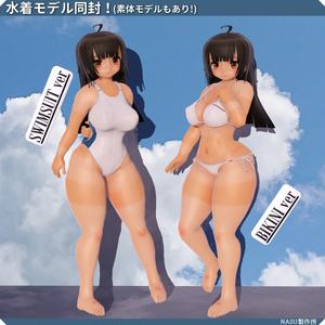 オリジナル3Dモデル「チヨ-Chiyo」