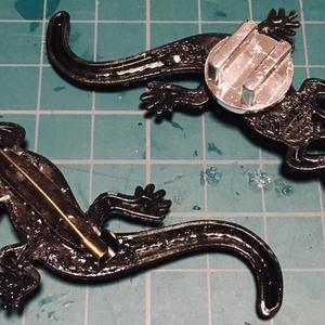 蜥蜴 2匹