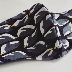 布マスク:ペンギン