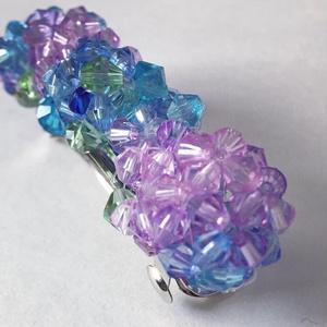 紫陽花のバレッタ