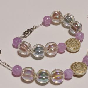 羽織紐・ストールクリップ:海の泡