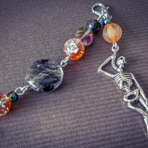 羽織紐・ストールクリップ:ハロウィンモチーフ