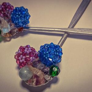 簪:紫陽花あんみつ