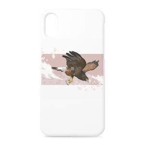 「鷹。」iPhoneケース