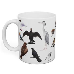 野鳥マグカップ