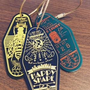 モーテルキーホルダー Hachiya's master key