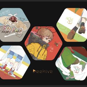 缶バッチ セット『 Beehive 』No.1