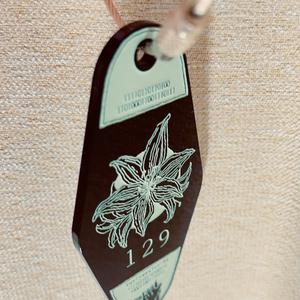 モーテルキーホルダー Kuriyama's master key B