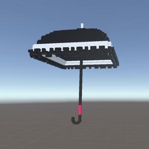 ボクセルの傘