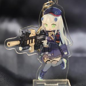 HK416 アクリルキーホルダー(台座付き)