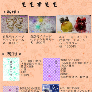 【A3】キャラクターイメージハーバリウム