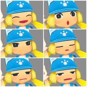 ねこガール【VRChat向け3Dモデル】