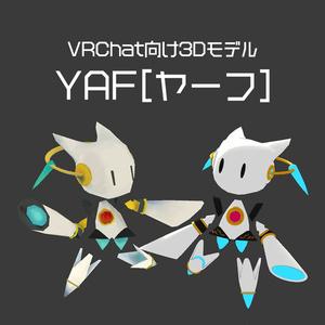 YAF(ヤーフ)【VRChat向け3Dモデル】