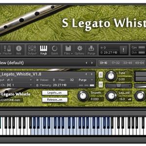 ティンホイッスル音源 S Legato Whistle for KONTAKT