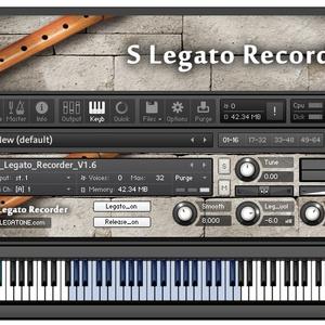 リコーダー音源 S Legato Recorder for KONTAKT