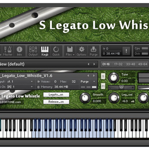 ローホイッスル音源 S Legato Low Whistle for KONTAKT