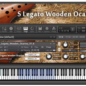 オカリナ音源 S Legato Wooden Ocarina for KONTAKT