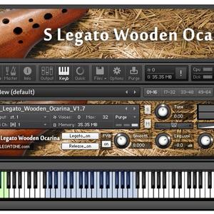 オカリナ音源 S Legato Wooden Ocarina for KONTAKT