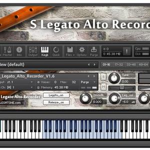リコーダー音源 S Legato Alto Recorder for KONTAKT