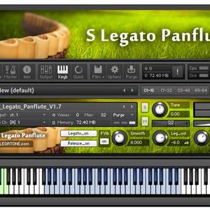 パンフルート音源 S Legato Panflute for KONTAKT