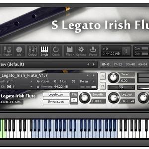 アイリッシュフルート音源 S Legato Irish Flute for KONTAKT