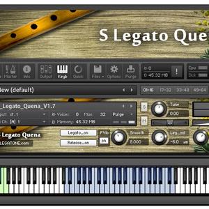 ケーナ音源 S Legato Quena for KONTAKT