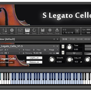 チェロ音源 S Legato Cello for KONTAKT