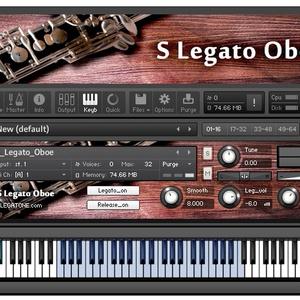 オーボエ音源 S Legato Oboe for KONTAKT