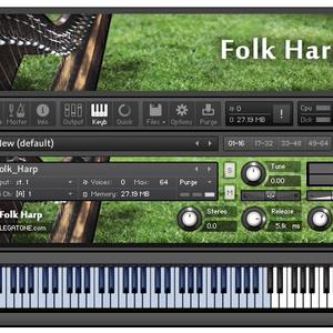 ハープ音源 Folk Harp for KONTAKT