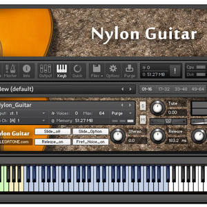 ギター音源 Nylon Guitar for KONTAKT